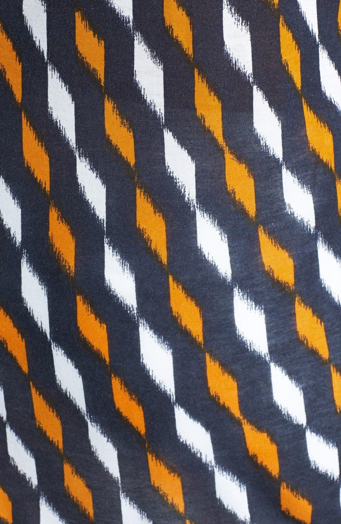 Alternate Image 3  - MICHAEL Michael Kors Tie Hem Print Top (Regular & Petite)