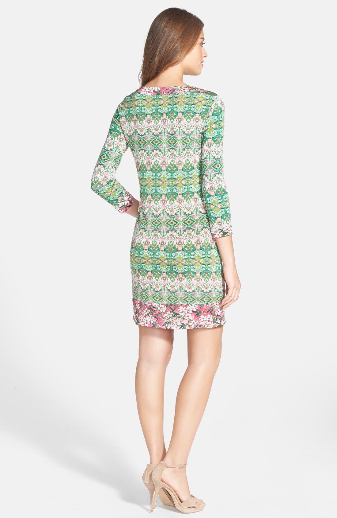 Alternate Image 2  - BCBGMAXAZRIA 'Ania' Print Jersey Shift Dress