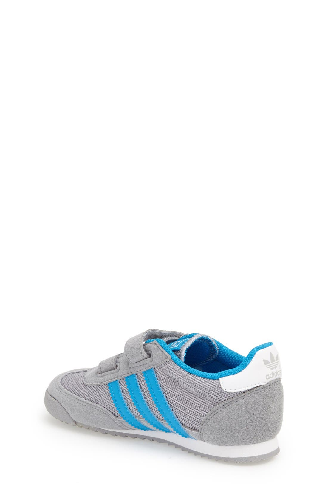 Alternate Image 2  - adidas 'Dragon' Sneaker (Baby, Walker & Toddler)