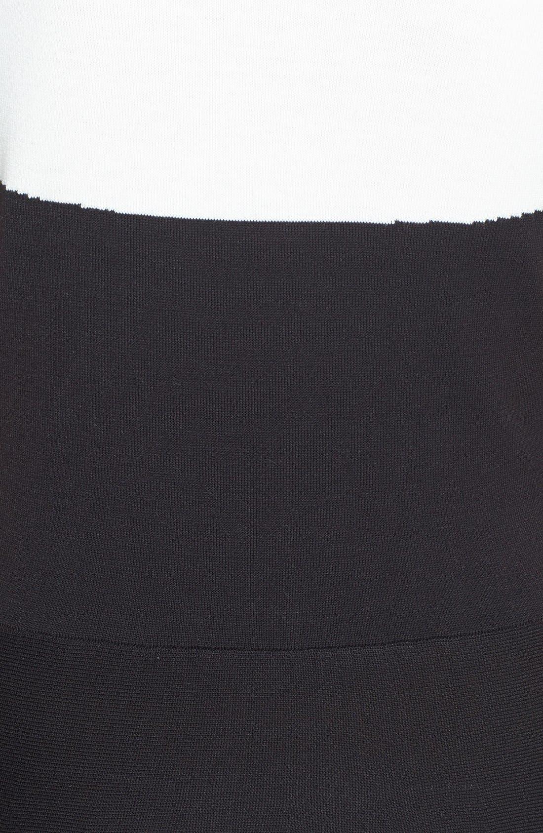 Alternate Image 3  - kate spade new york colorblock sweater dress