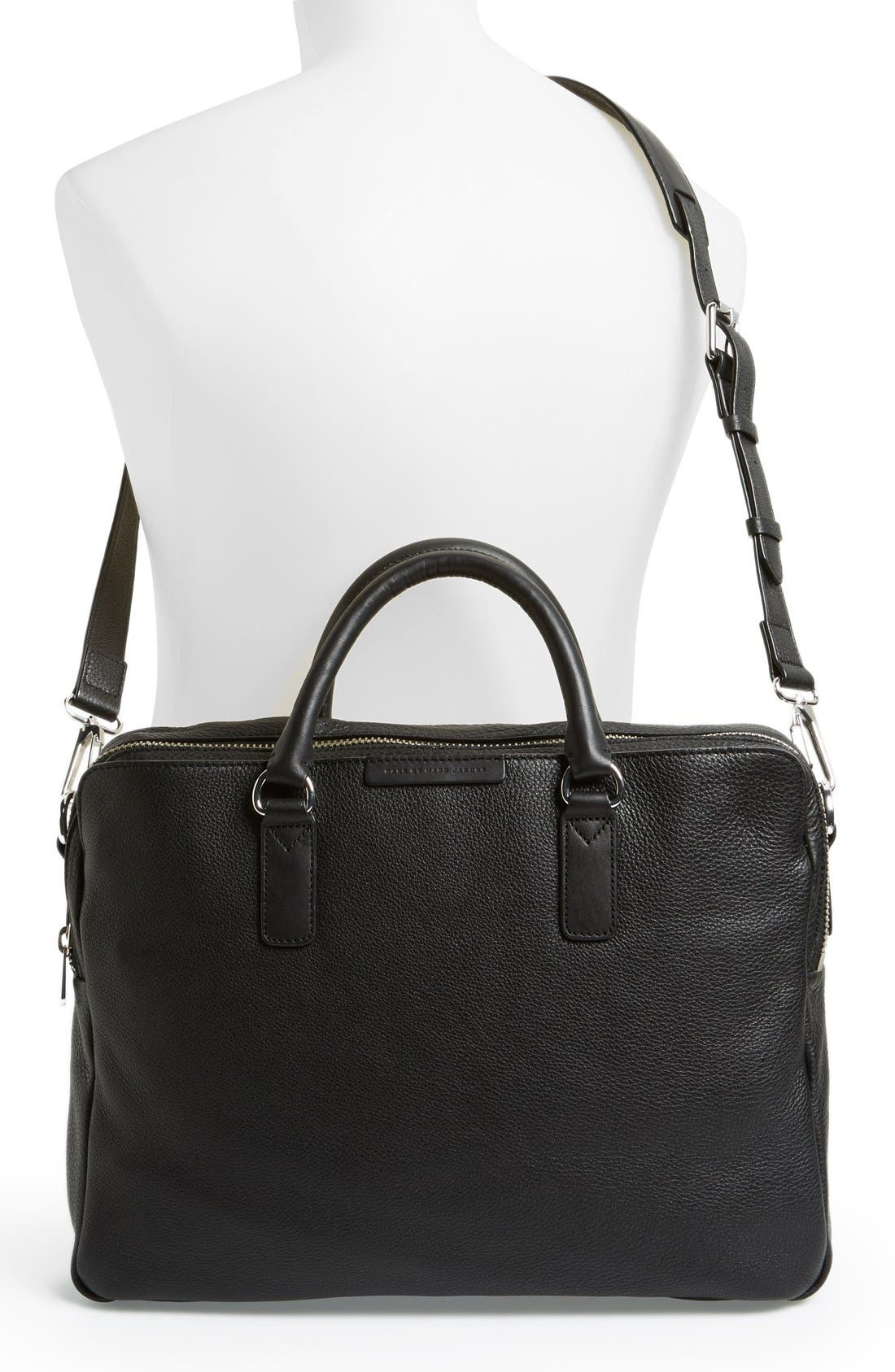 Alternate Image 2  - MARC BY MARC JACOBS 'Classic' Leather Briefcase