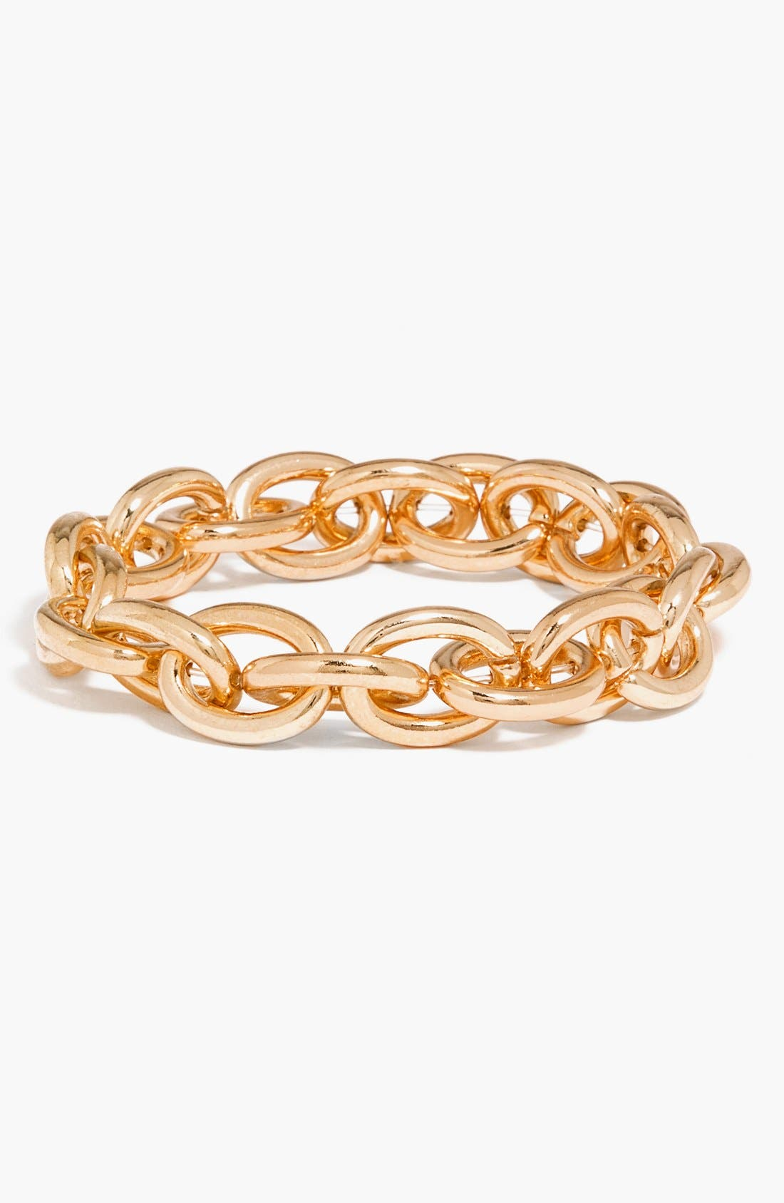 Alternate Image 1 Selected - BaubleBar Chain Link Stretch Bracelet
