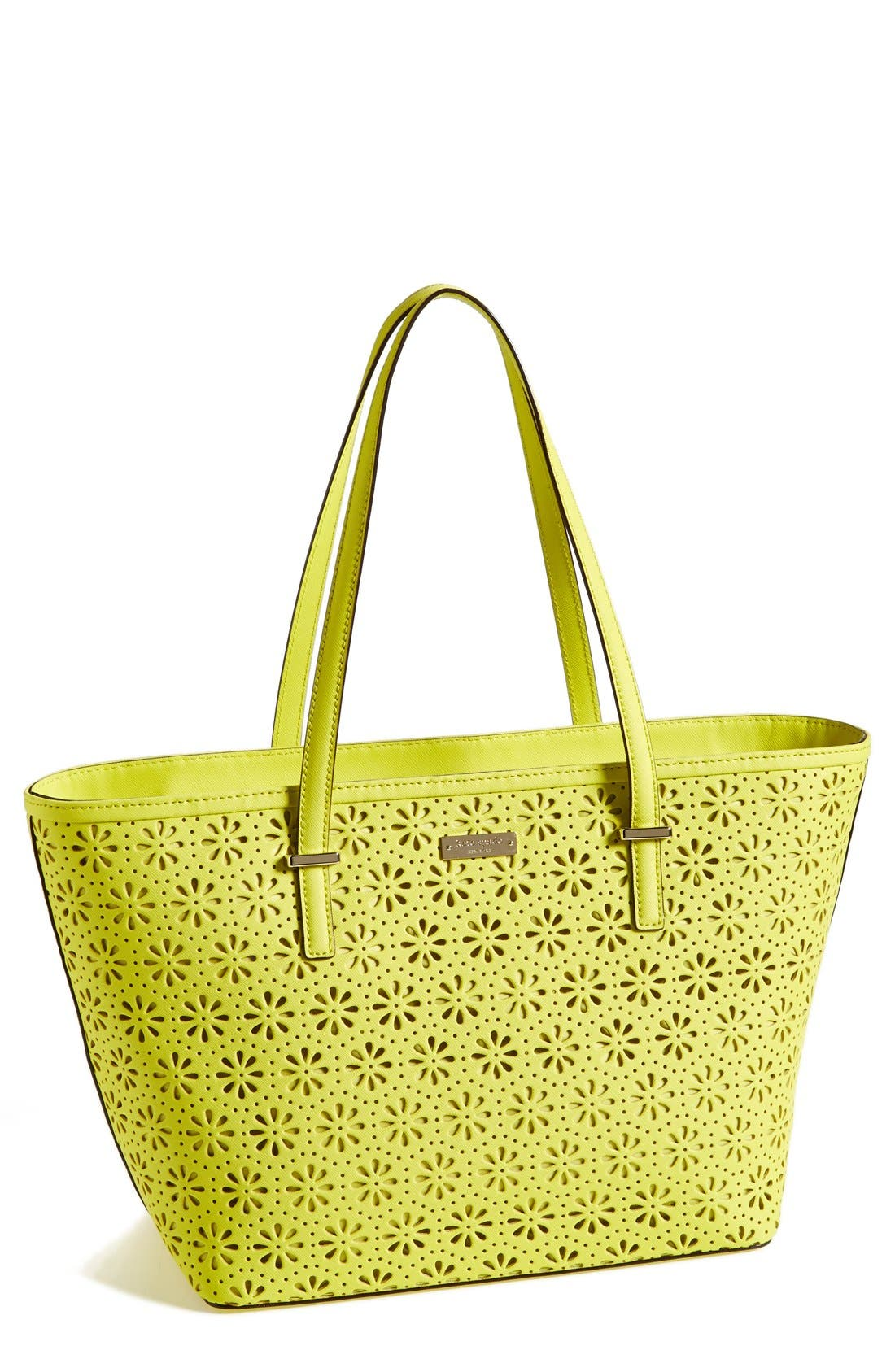 Main Image - kate spade new york 'small cedar street - harmony' perforated leather tote