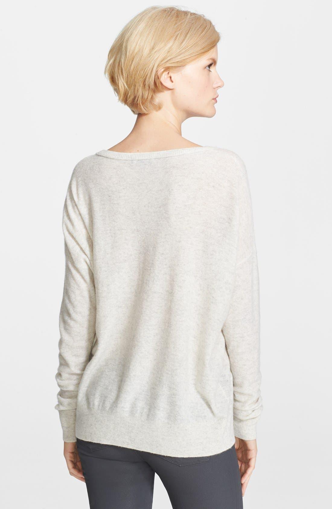 Alternate Image 2  - Vince 'Square' Cashmere Sweater