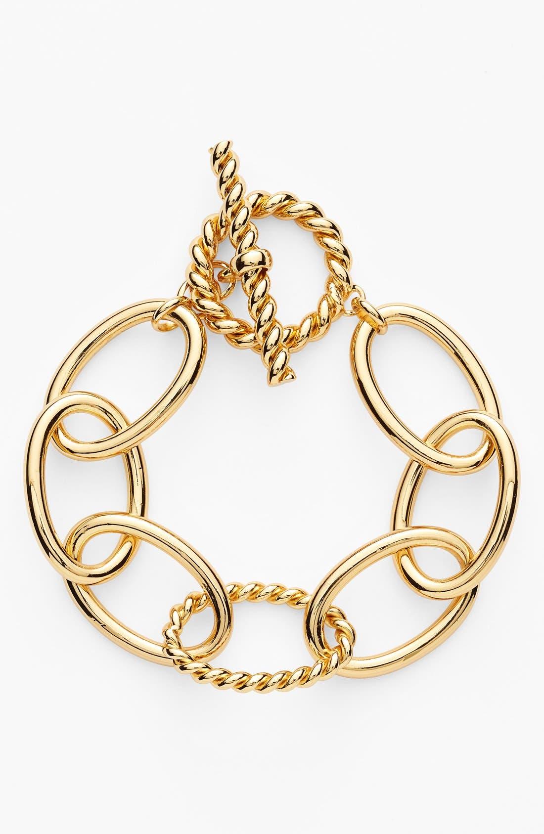 Alternate Image 1 Selected - Lauren Ralph Lauren Link Bracelet