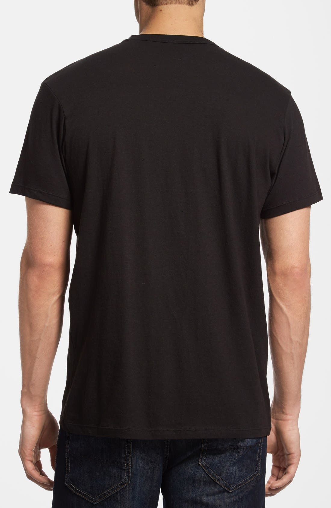 Alternate Image 2  - 47 Brand 'New York Yankees - Camo Flanker' Graphic T-Shirt