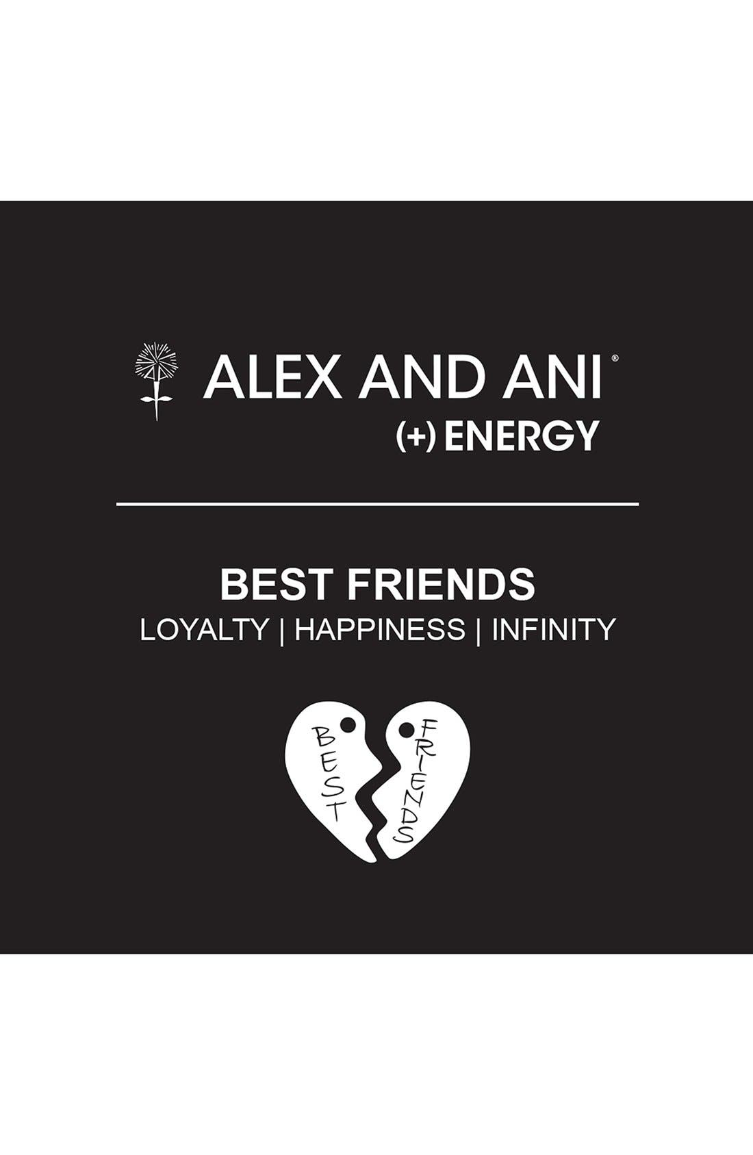 Alternate Image 3  - Alex and Ani 'Charity by Design - Best Friends' Adjustable Wire Bangles (Set of 2)