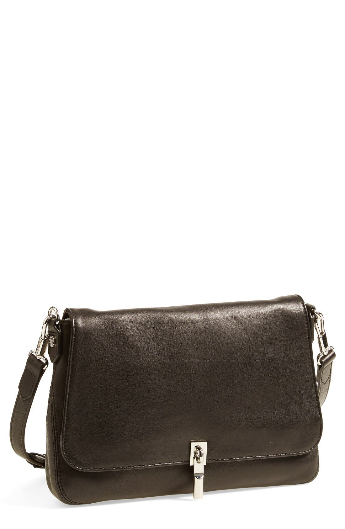 Alternate Image 1 Selected - Elizabeth and James 'Mini Cynnie' Leather Crossbody Bag
