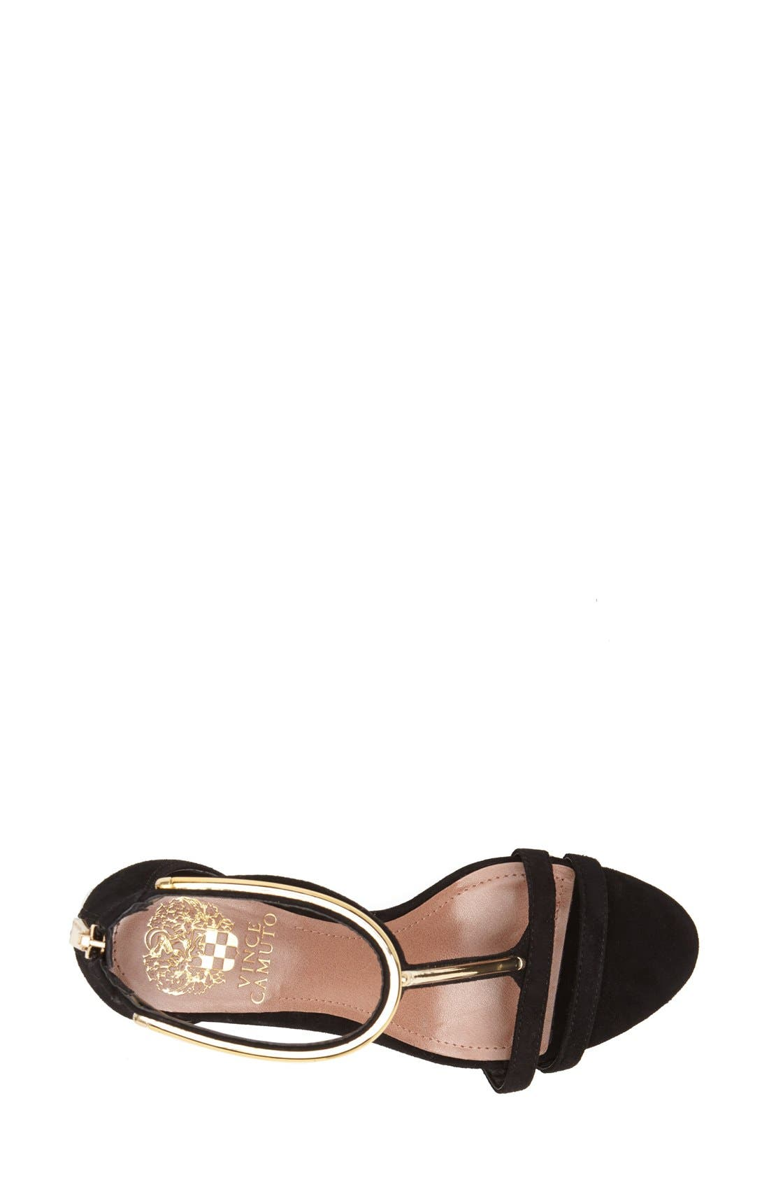 Alternate Image 3  - Vince Camuto 'Mitzy' Suede T-Strap Sandal (Women)
