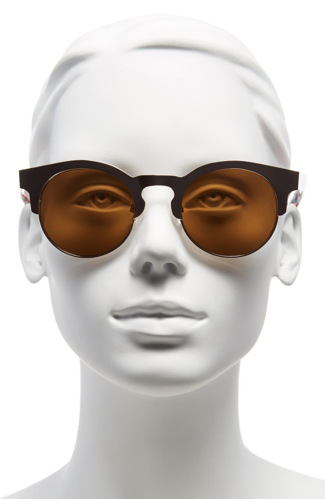 Alternate Image 2  - FE NY 51mm Retro Sunglasses