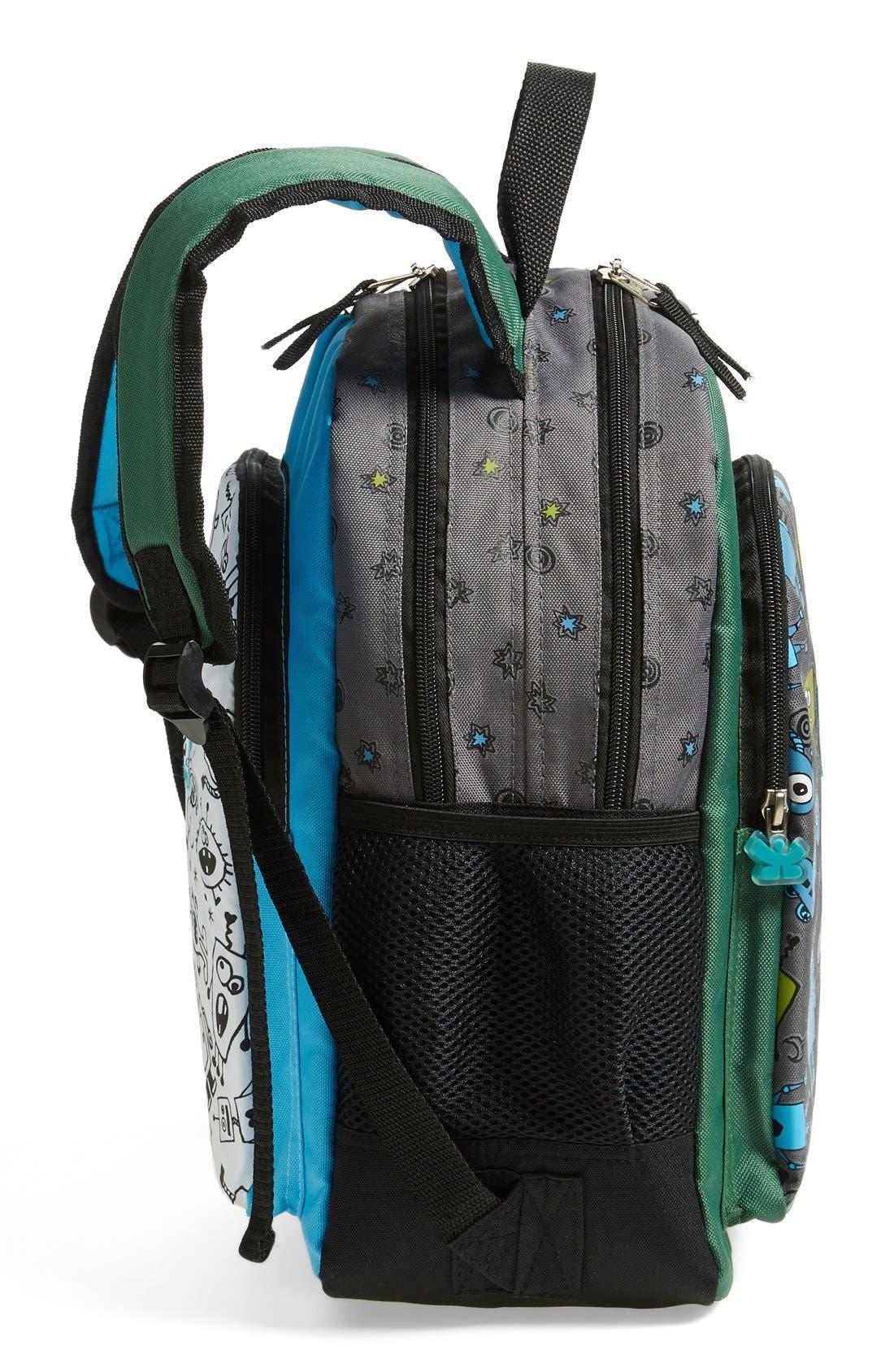 Alternate Image 3  - CHOOZE Reversible Backpack (Kids)