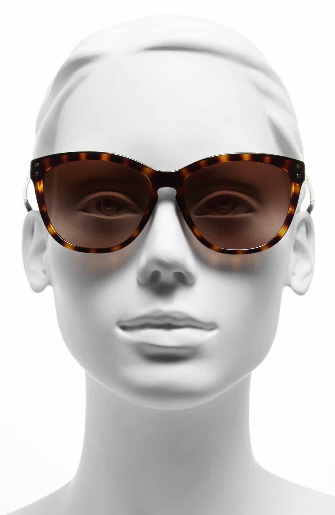 Alternate Image 2  - COACH 'Celia' 57mm Cat Eye Sunglasses