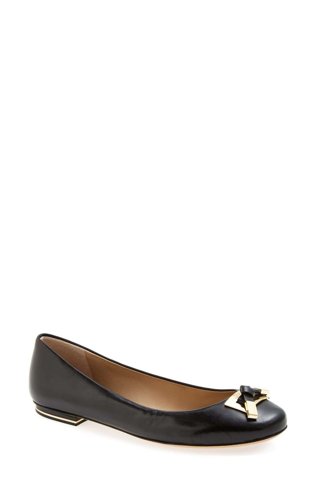 Alternate Image 1 Selected - Michael Kors 'Pearl' Ballet Flat (Women)