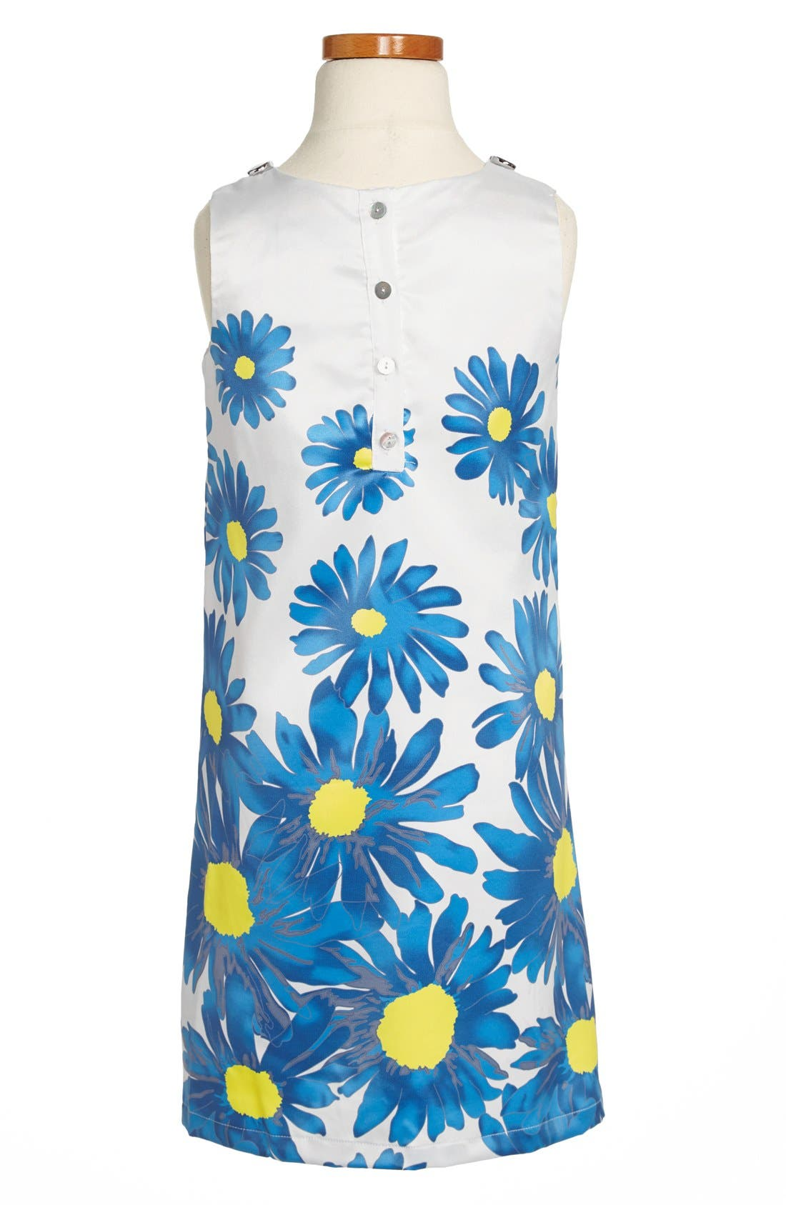 Alternate Image 2  - Laundry by Shelli Segal Embellished Sheath Dress (Big Girls)