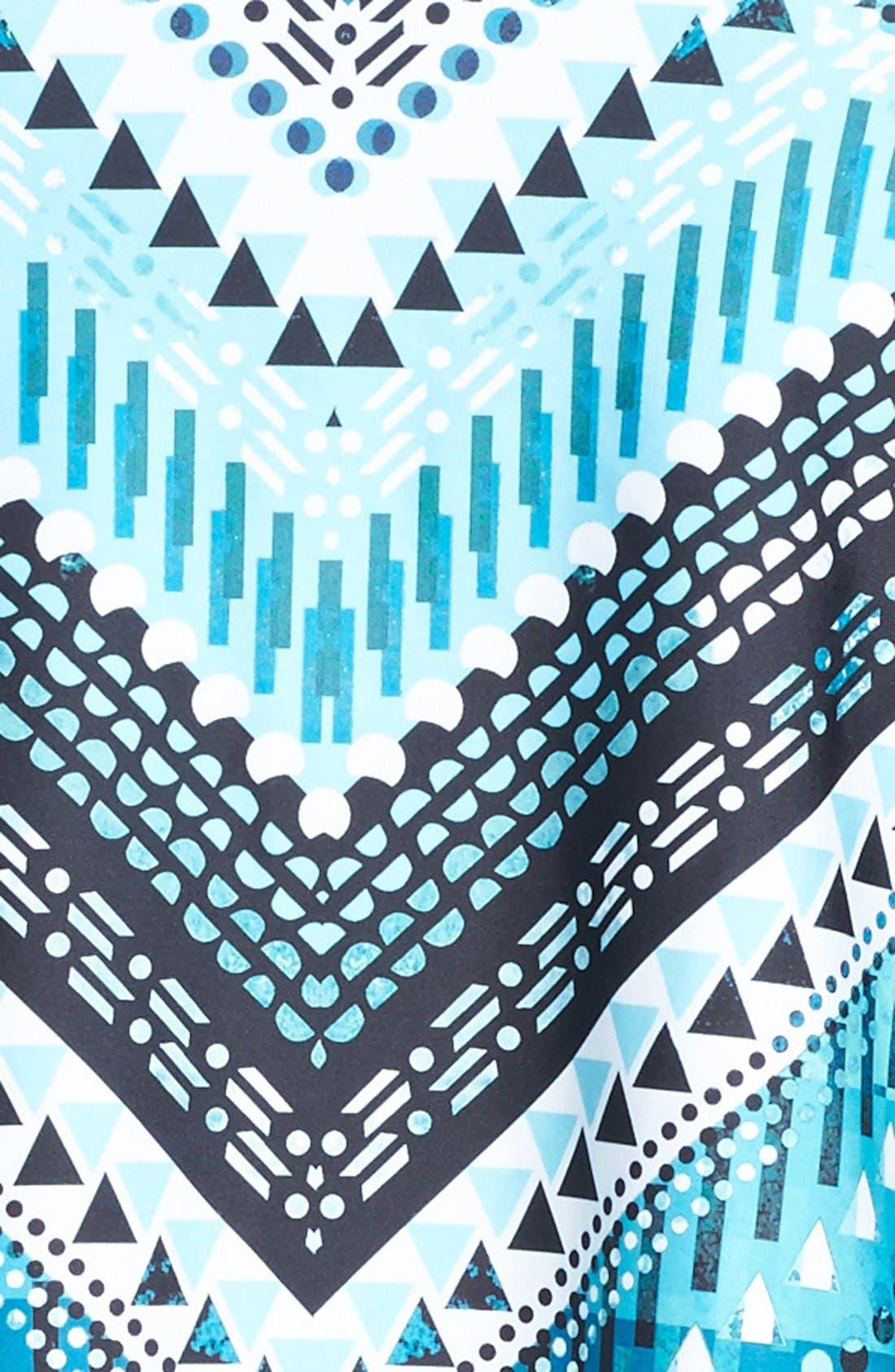 Alternate Image 5  - Becca Etc. 'Mayan' Tankini Top (Plus Size)