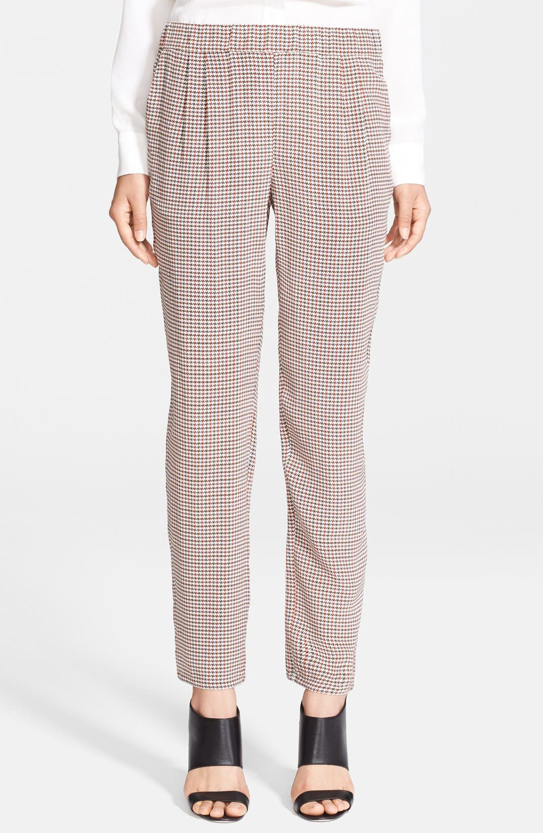 Alternate Image 1 Selected - Equipment 'Hadley' Print Silk Pants