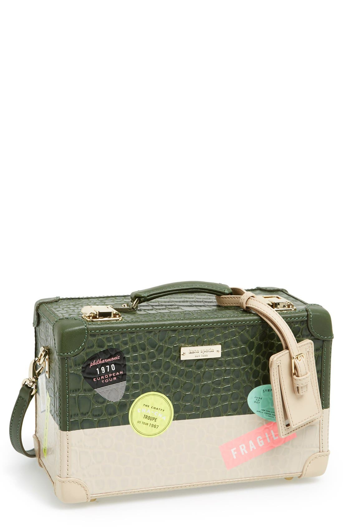 Alternate Image 1 Selected - kate spade new york 'smoke and mirrors - corbin' clutch