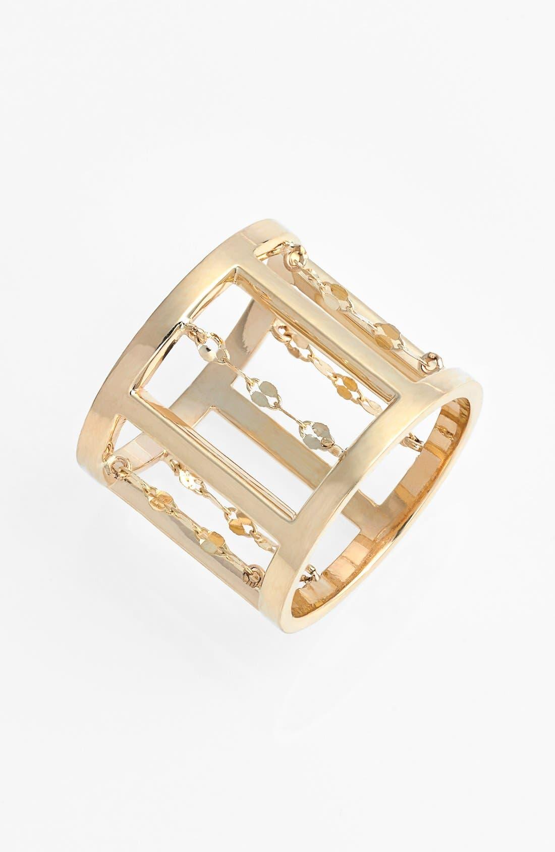 Main Image - Lana Jewelry Open Cigar Band Ring
