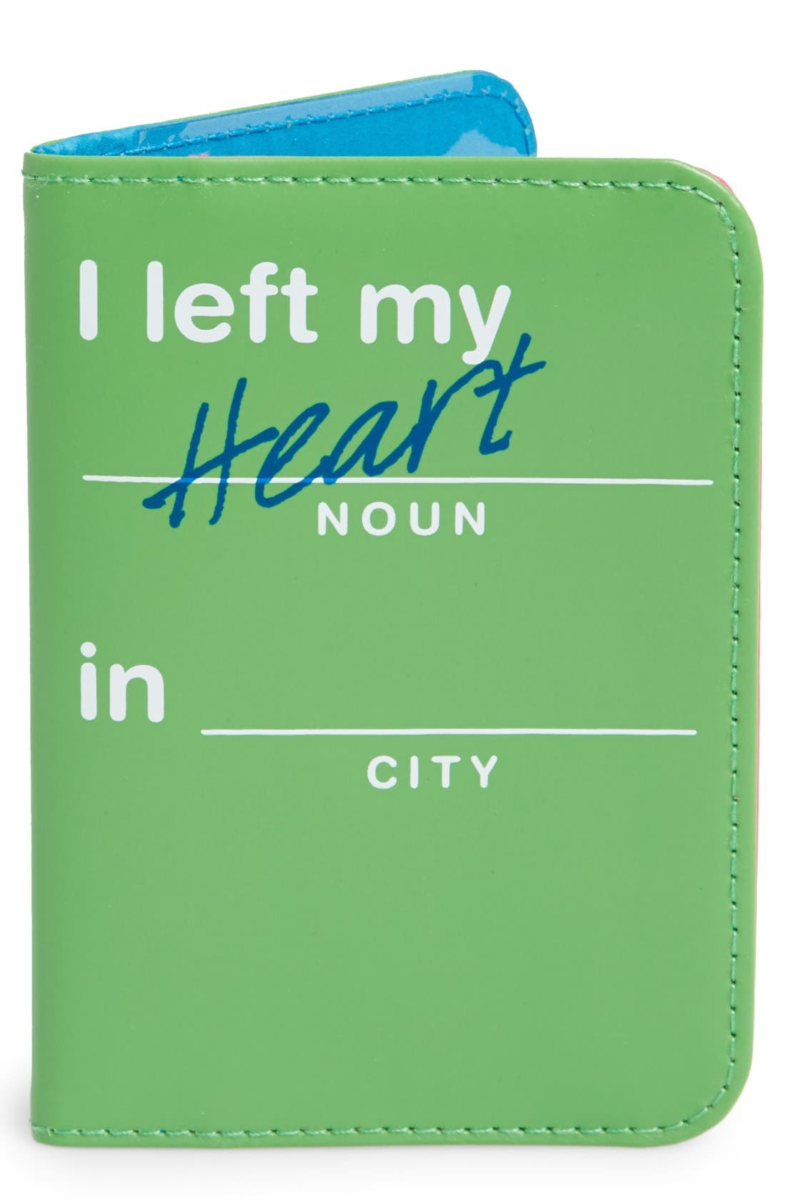 Alternate Image 1 Selected - Flight 001 'Flight Libs - I Left My Heart in  _____' Passport Cover