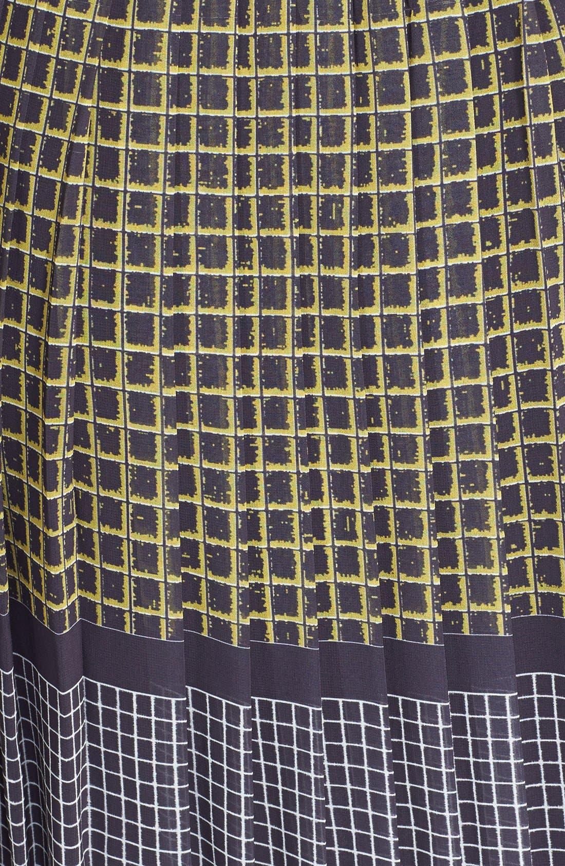Alternate Image 3  - Halogen® Print Fit & Flare Dress (Regular & Petite)