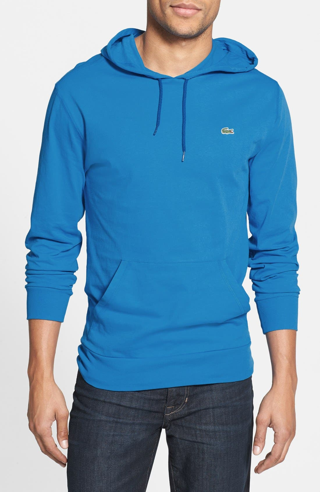 Main Image - Lacoste Jersey Hoodie