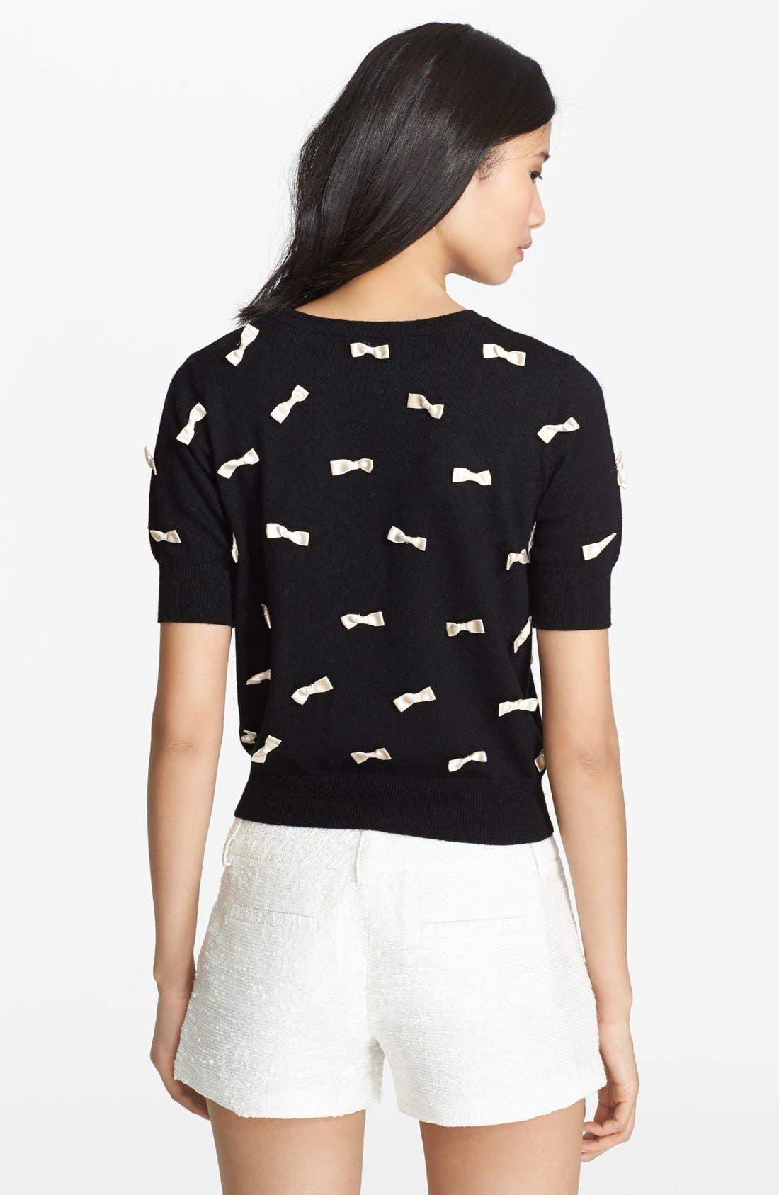 Alternate Image 2  - Alice + Olivia Bow Detail Sweater