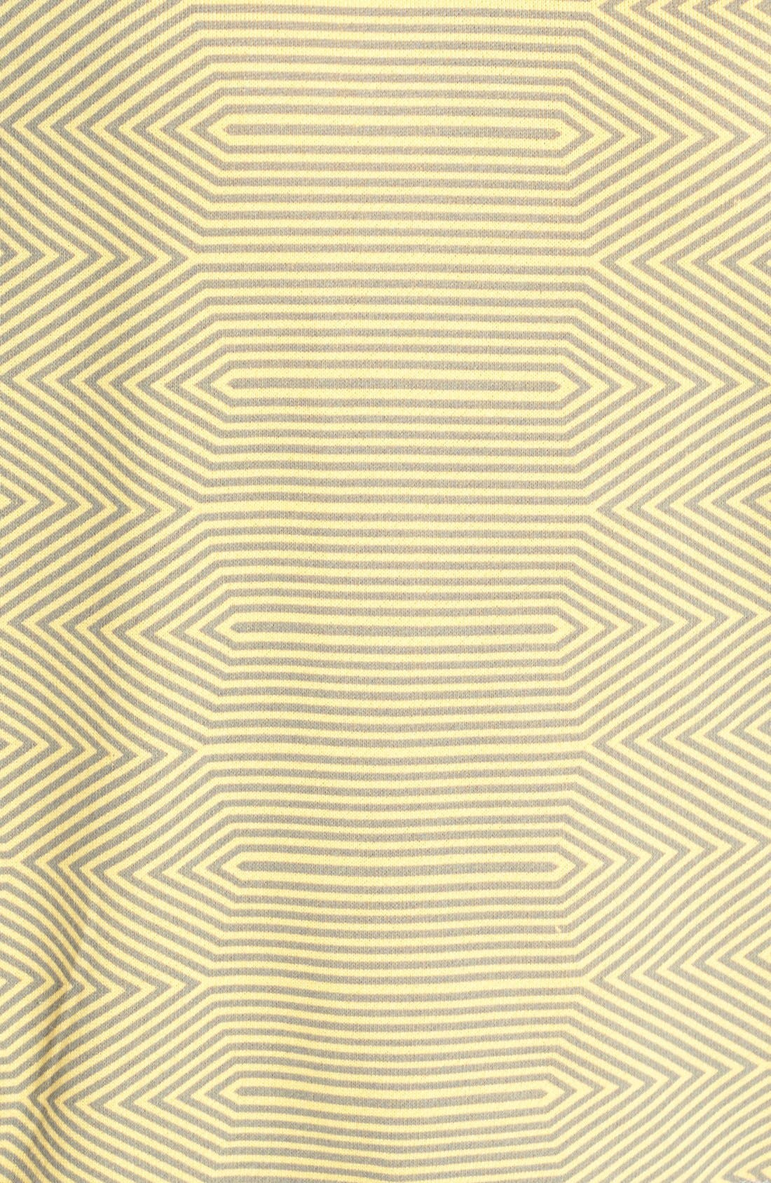 Alternate Image 3  - Halogen® Print Front Sweatshirt (Regular & Petite)