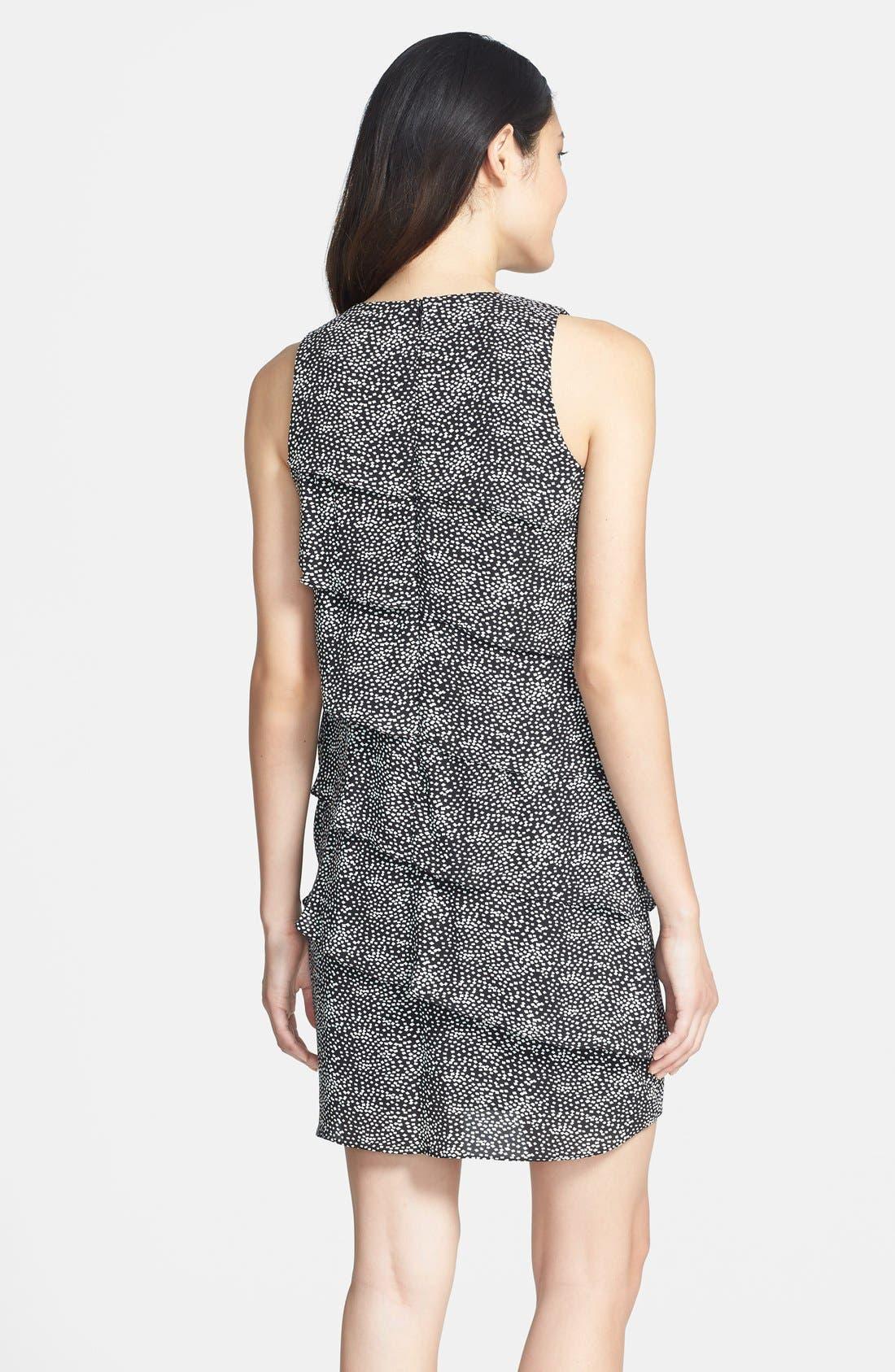 Alternate Image 2  - Eliza J Tiered Print Shift Dress (Petite)
