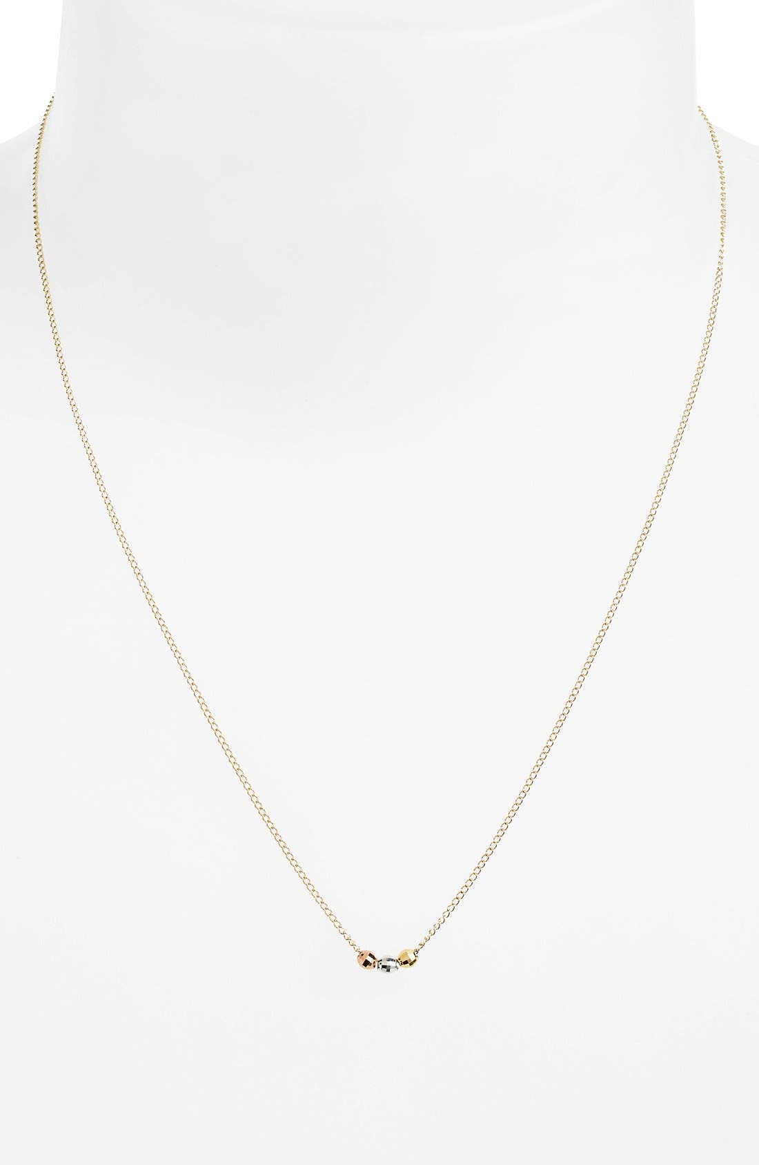 Alternate Image 2  - Dogeared 'Reminder - Three Wishes' Boxed Bead Pendant Necklace (Nordstrom Exclusive)