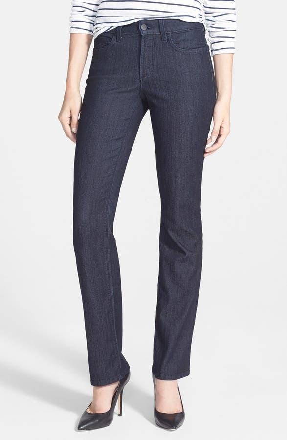4b391aa5ece Main Image - NYDJ  Marilyn  Stretch Straight Leg Jeans (Dark Enzyme) (