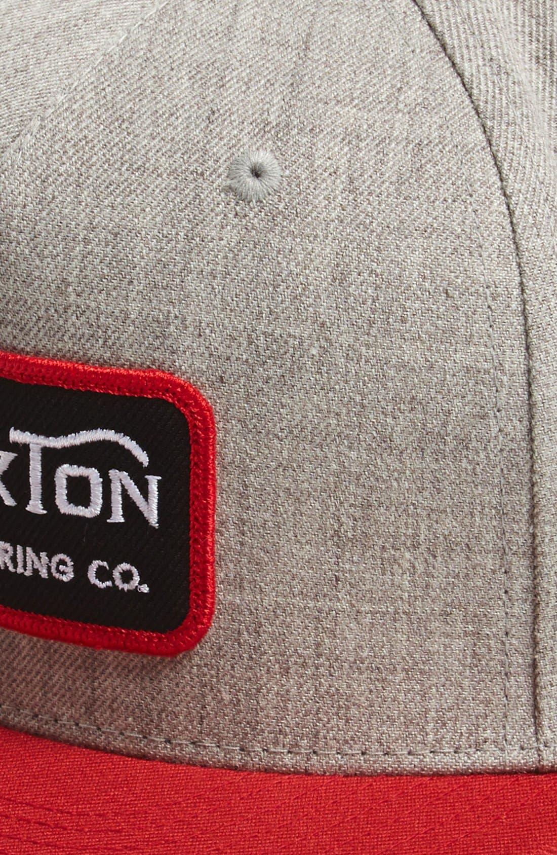 Alternate Image 2  - Brixton 'Grade' Snapback Cap