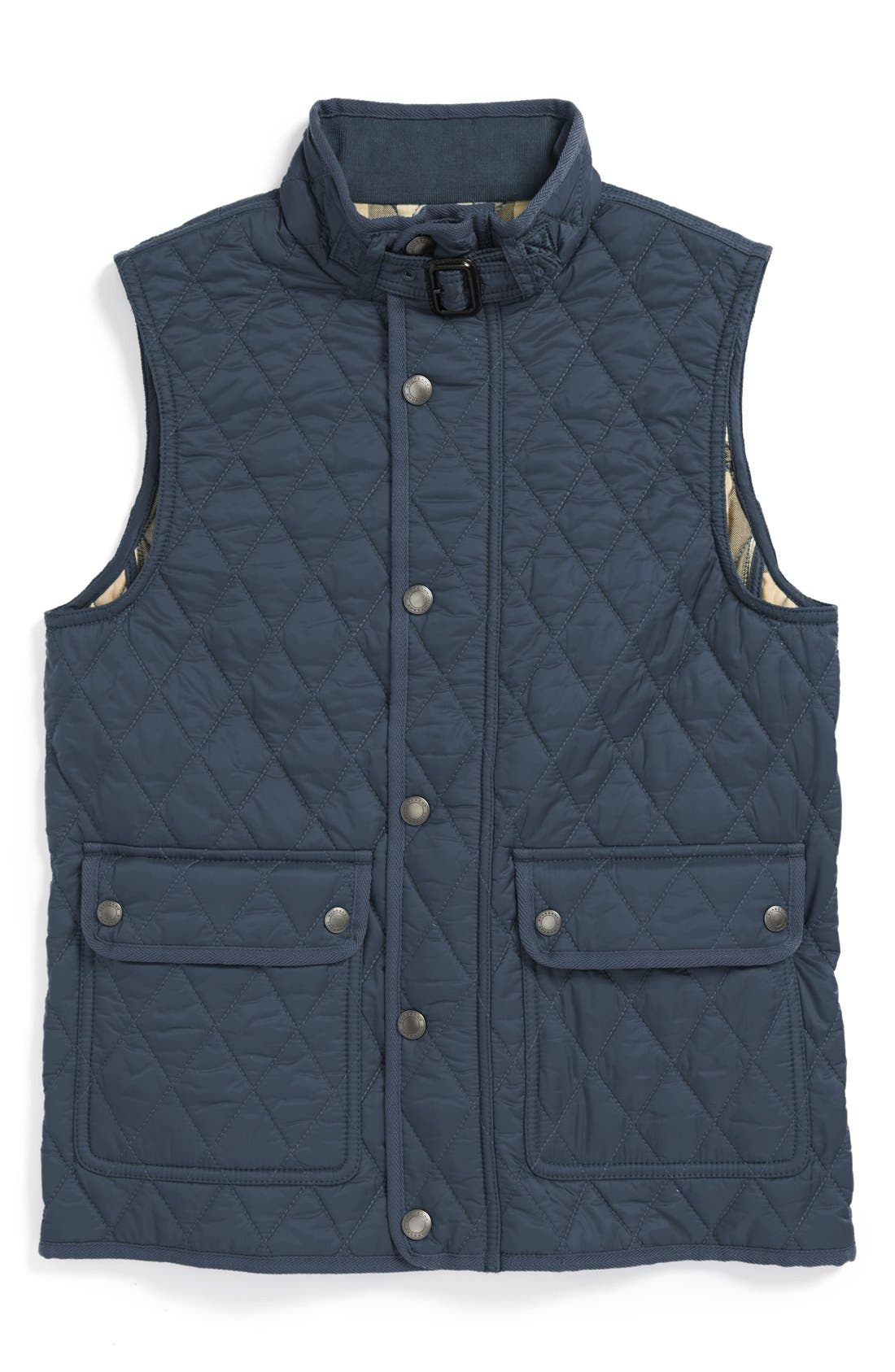 Alternate Image 1 Selected - Burberry Quilted Vest (Little Boys & Big Boys)