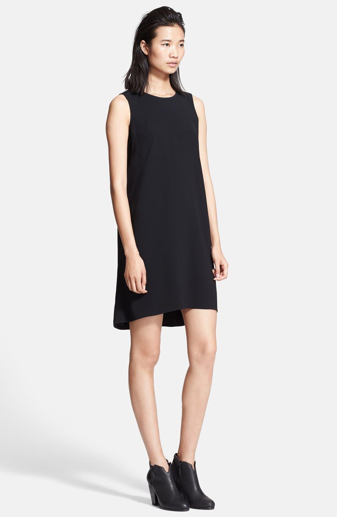 Alternate Image 1 Selected - rag & bone 'Harper' Split Back Shift Dress