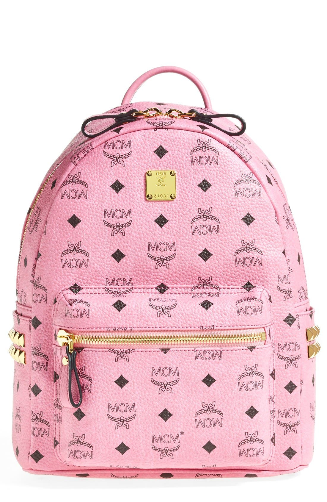 Main Image - MCM 'Small - Visetos' Coated Canvas Backpack