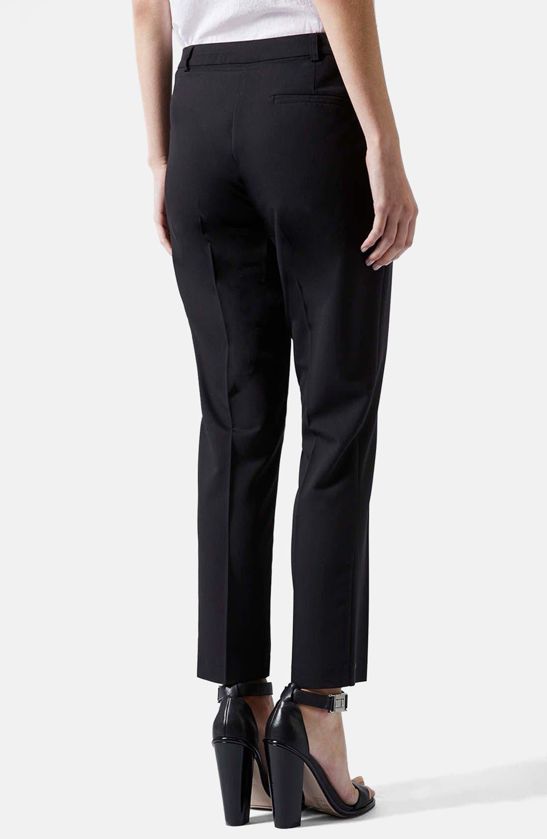 Alternate Image 2  - Topshop Cigarette Pants (Regular & Short)