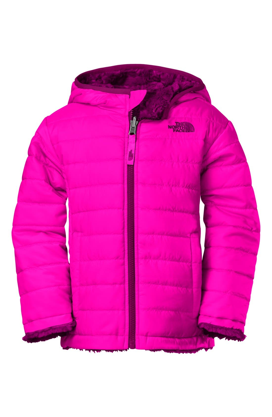 Main Image - The North Face 'Mossbud' Reversible Jacket (Toddler Girls) (Online Only)