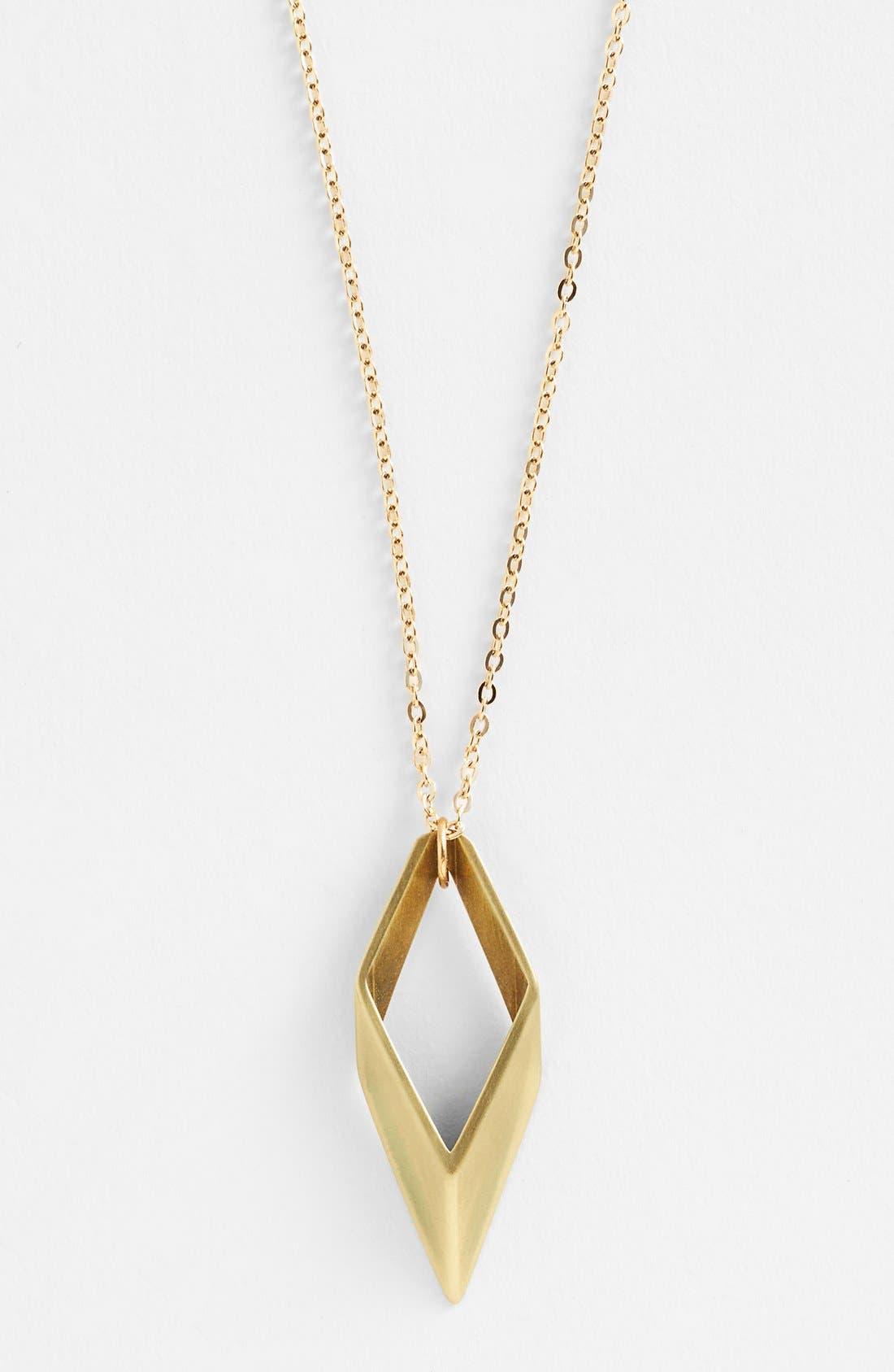 Alternate Image 2  - Baleen 'Parallelogram' Pendant Necklace