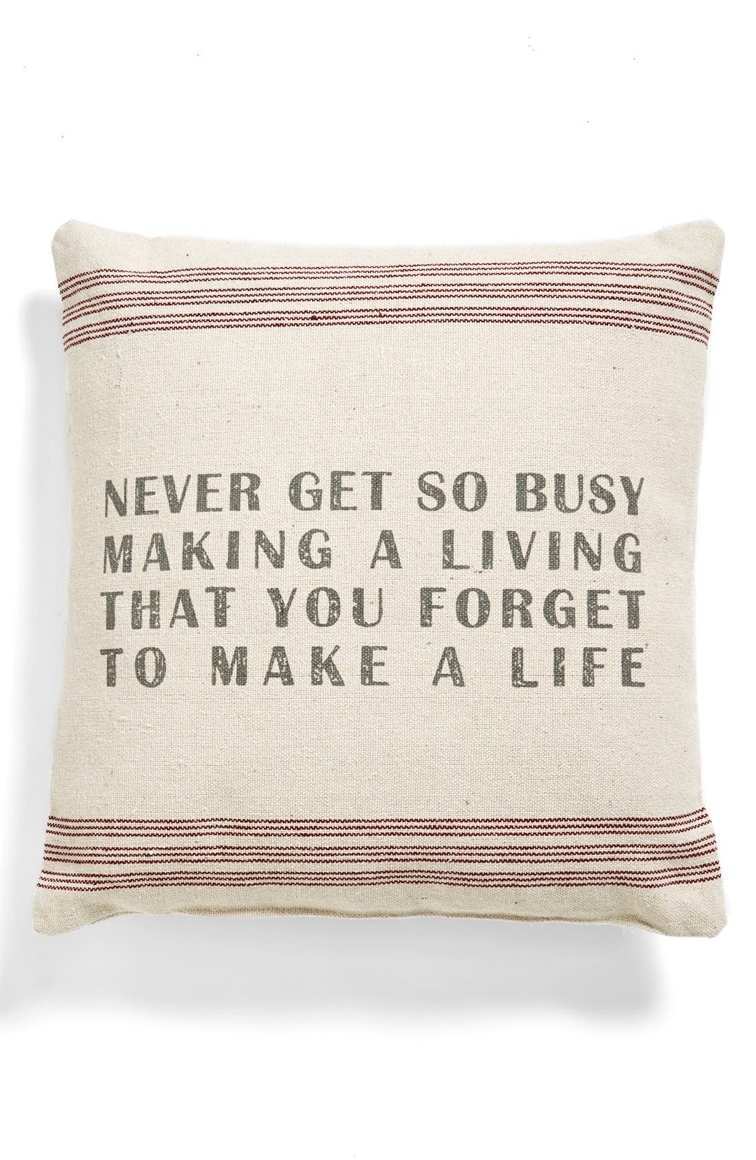 Main Image - Primitives by Kathy 'Never Get Busy' Pillow