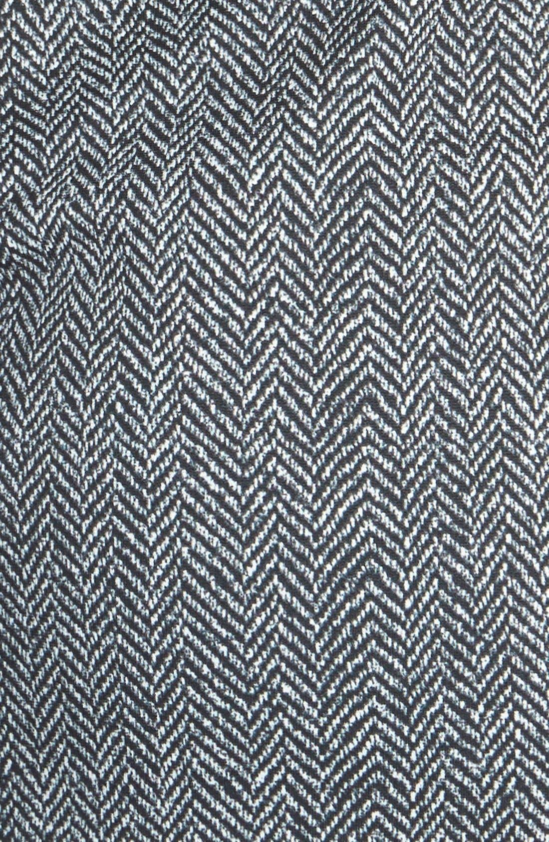 Alternate Image 3  - MICHAEL Michael Kors Print Ponte & Faux Leather Dress