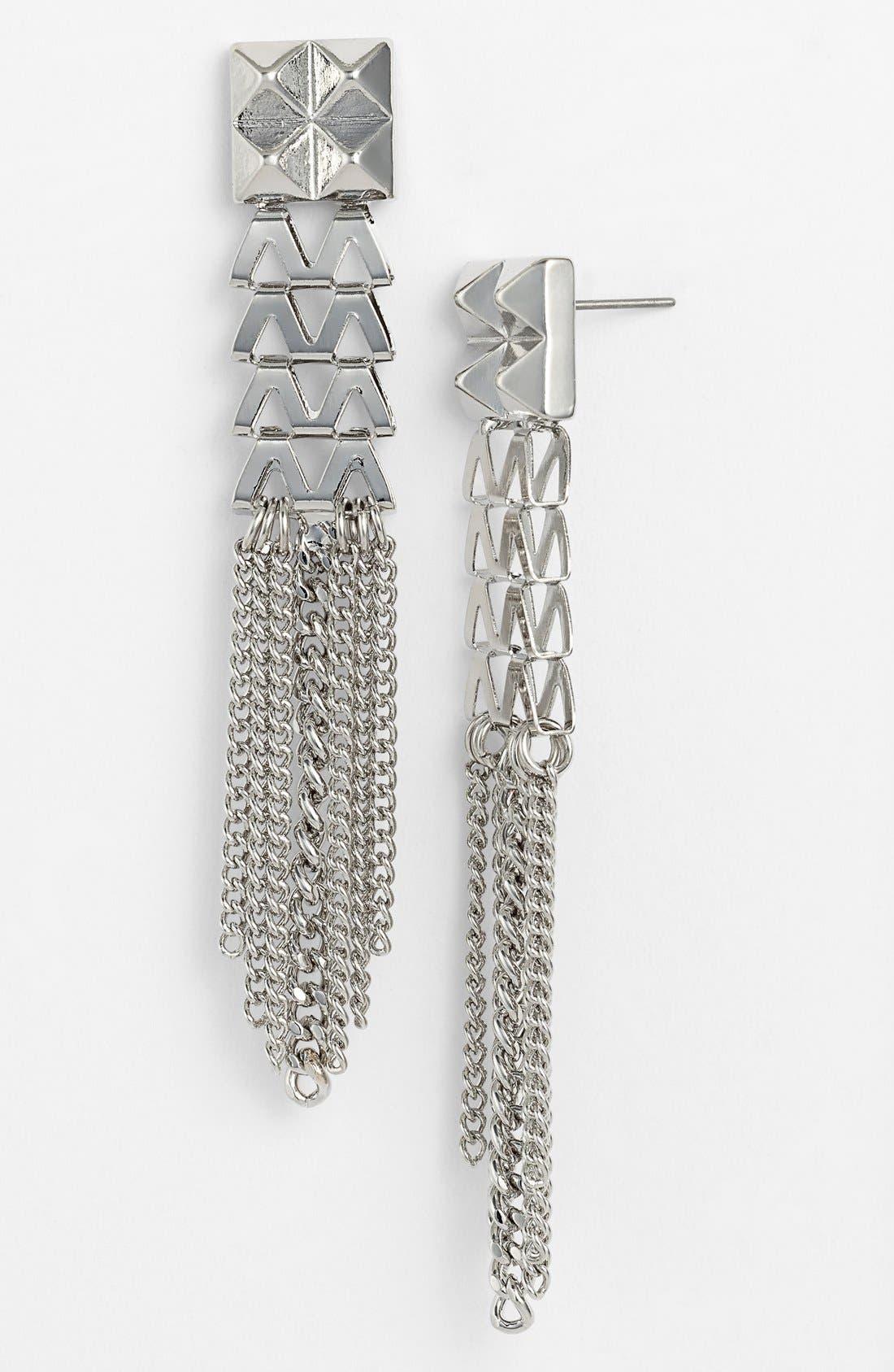 Alternate Image 1 Selected - Nordstrom 'Vintage Girl' Tassel Drop Earrings