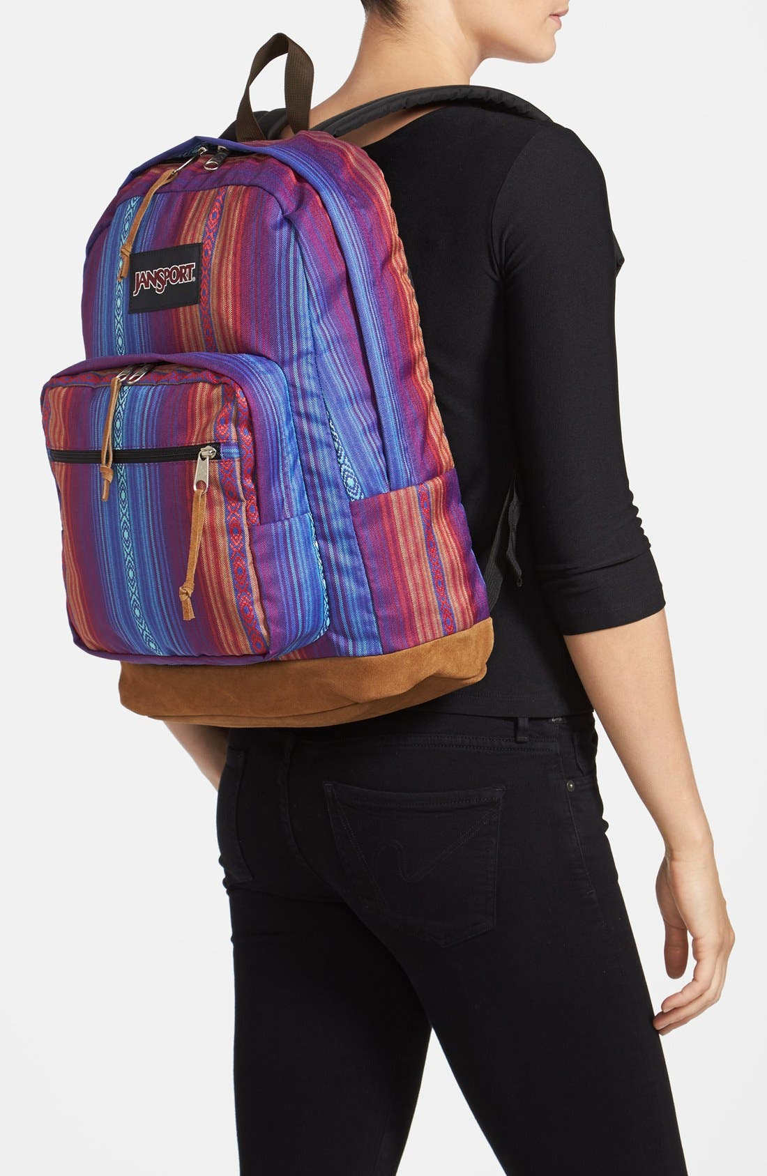 Alternate Image 2  - JanSport 'Right Pack World' Backpack