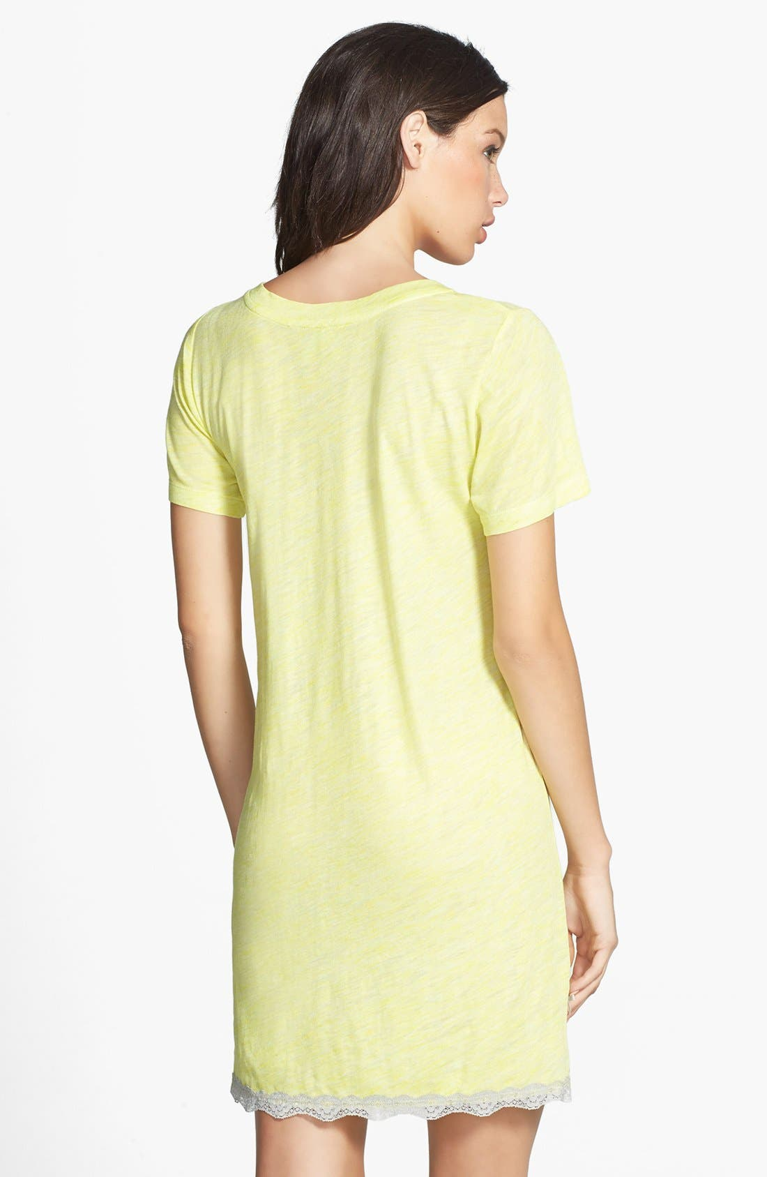 Alternate Image 2  - Honeydew Intimates Lace Trim Sleep Shirt