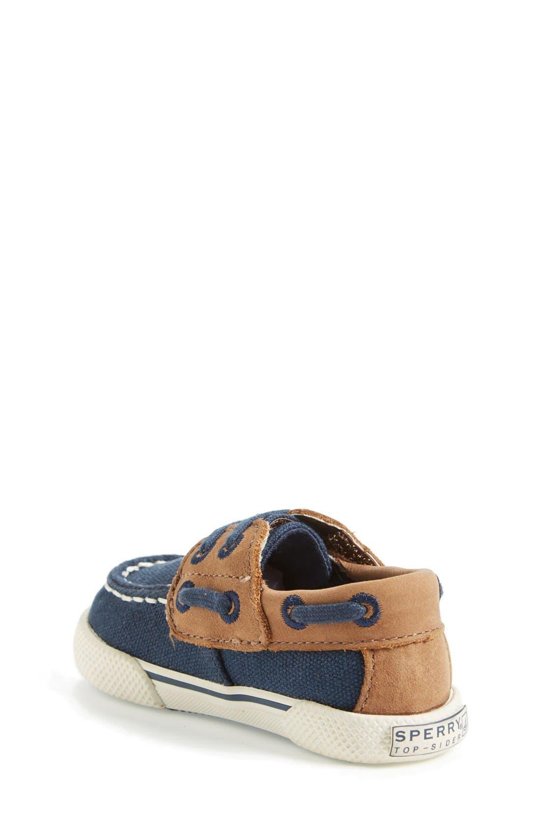 Alternate Image 2  - Sperry Top-Sider® Kids 'Halyard' Crib Shoe (Baby)