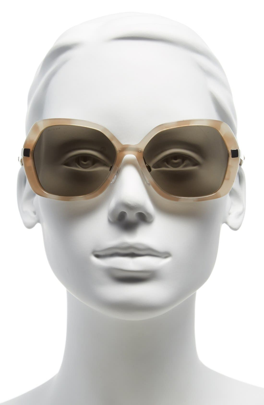 Alternate Image 2  - Burberry 'Classic' 58mm Sunglasses