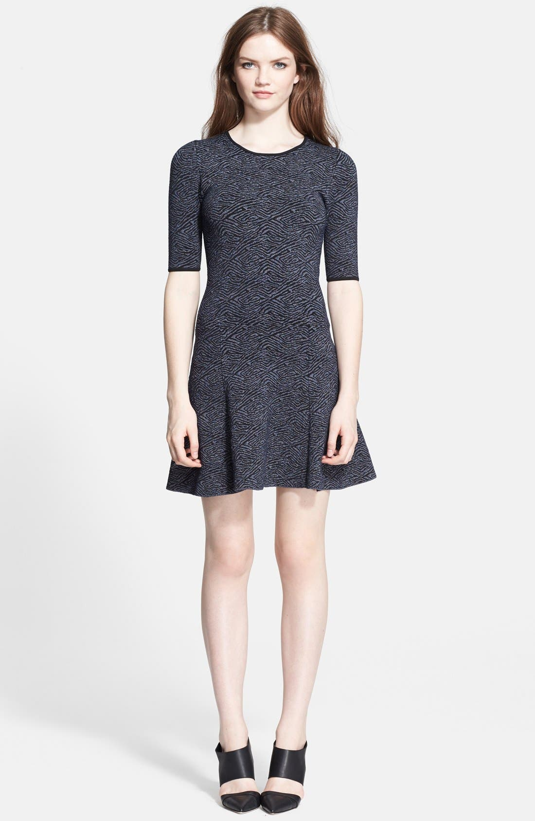 Alternate Image 1 Selected - A.L.C. 'Deele' Jacquard Knit Dress