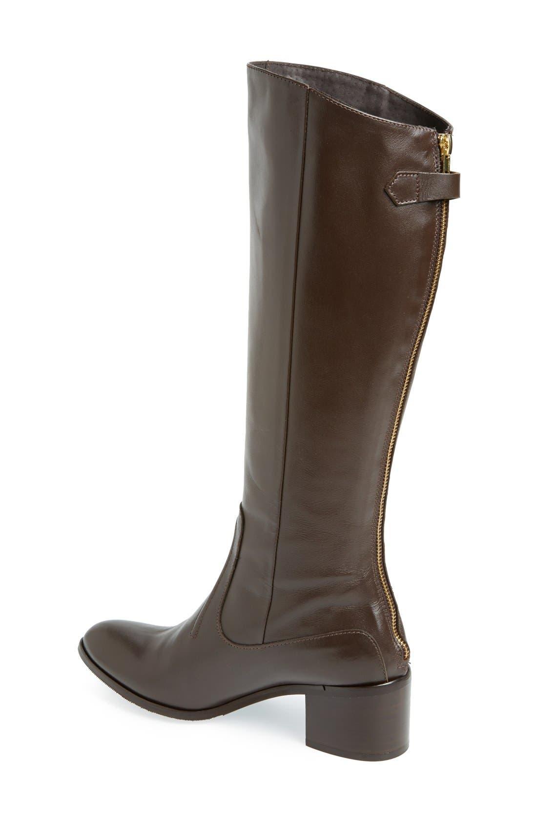 Alternate Image 2  - Charles David 'Ramu' Leather Riding Boot (Women)