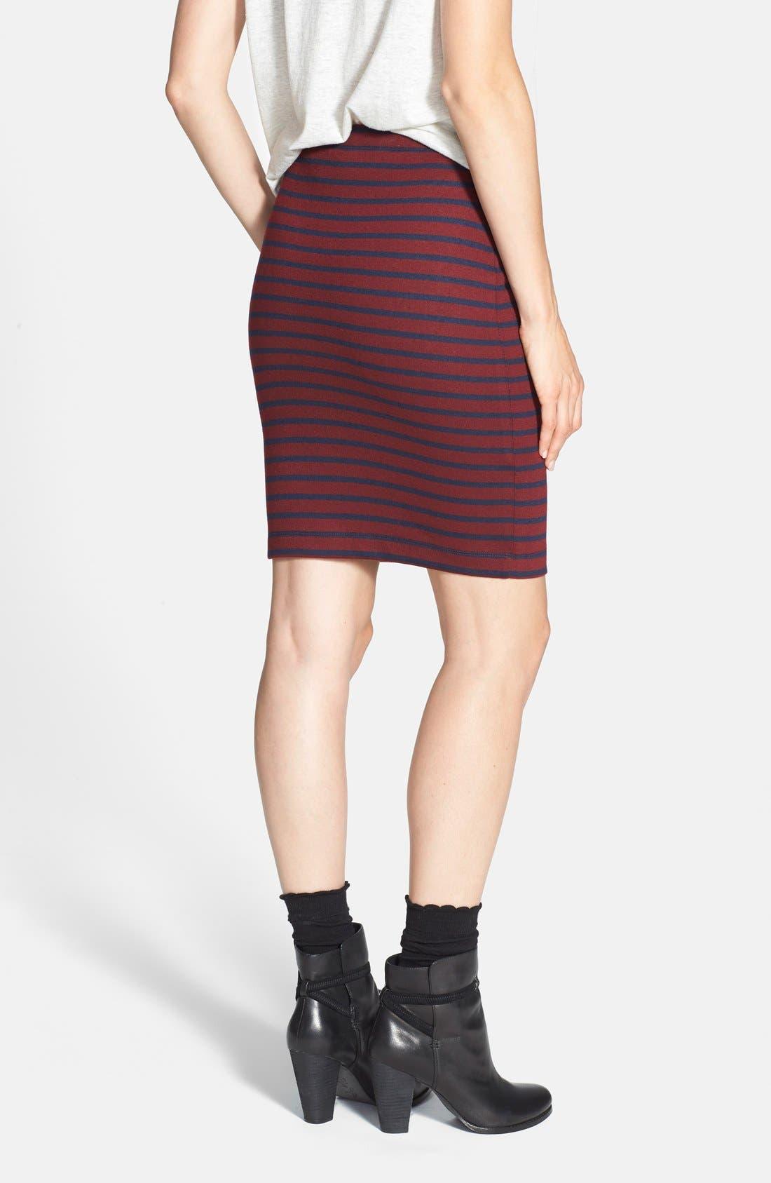Alternate Image 2  - Ace Delivery Stripe Tube Skirt