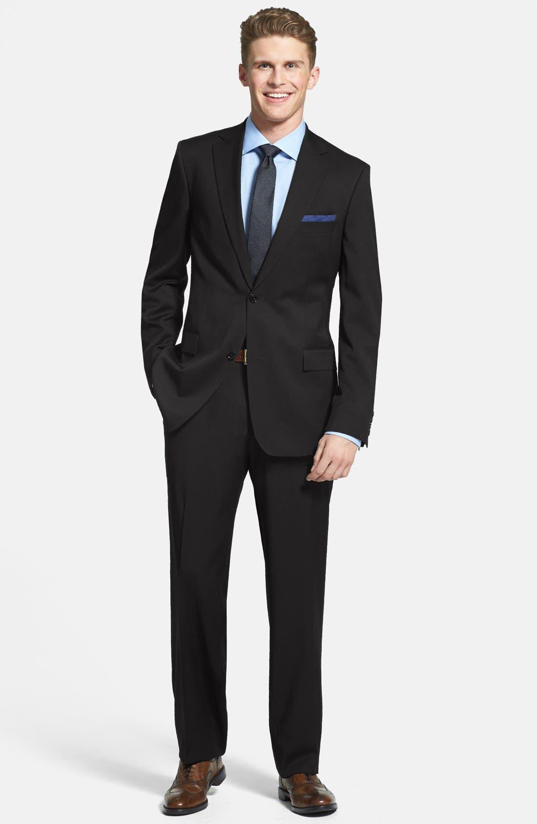 Alternate Image 1 Selected - BOSS HUGO BOSS 'Pasolini/Movie' Wool Suit