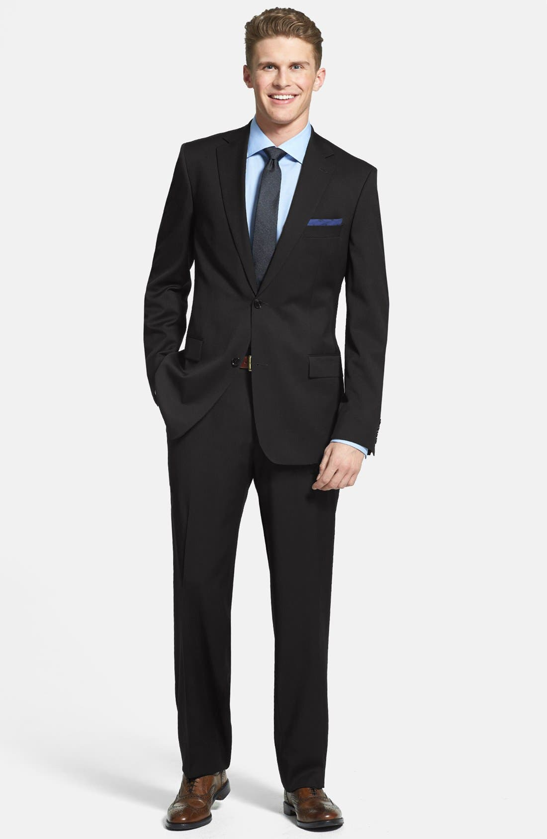 Main Image - BOSS HUGO BOSS 'Pasolini/Movie' Wool Suit