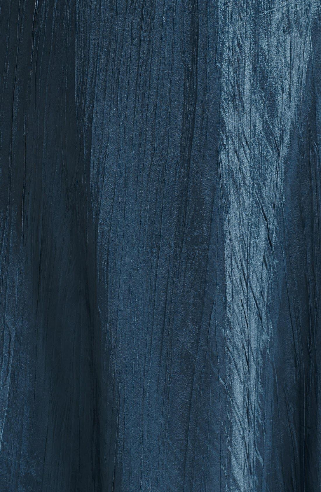 Alternate Image 4  - Komarov Embellished Charmeuse Dress & Chiffon Jacket (Plus Size)